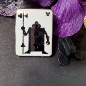 4/$25 Disney Hidden Mickey Card Guard Pin